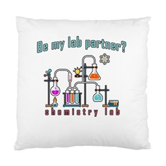 Chemistry Lab Standard Cushion Case (one Side) by Valentinaart