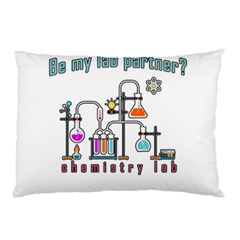 Chemistry Lab Pillow Case (two Sides) by Valentinaart