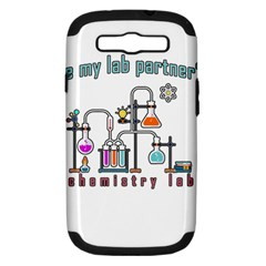 Chemistry Lab Samsung Galaxy S Iii Hardshell Case (pc+silicone) by Valentinaart