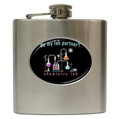Chemistry Lab Hip Flask (6 Oz) by Valentinaart