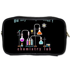 Chemistry Lab Toiletries Bags 2 Side by Valentinaart