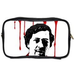 Pablo Escobar  Toiletries Bags 2 Side by Valentinaart