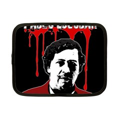 Pablo Escobar  Netbook Case (small)  by Valentinaart