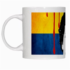 Pablo Escobar White Mugs by Valentinaart