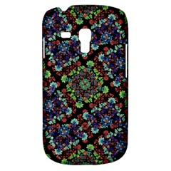 Colorful Floral Collage Pattern Galaxy S3 Mini by dflcprints