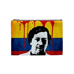 Pablo Escobar Cosmetic Bag (medium)  by Valentinaart