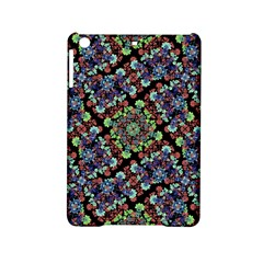 Colorful Floral Collage Pattern Ipad Mini 2 Hardshell Cases by dflcprints