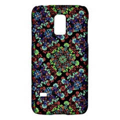 Colorful Floral Collage Pattern Galaxy S5 Mini by dflcprints