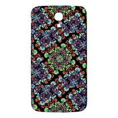 Colorful Floral Collage Pattern Samsung Galaxy Mega I9200 Hardshell Back Case by dflcprints