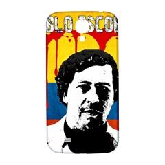 Pablo Escobar Samsung Galaxy S4 I9500/i9505  Hardshell Back Case by Valentinaart