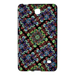 Colorful Floral Collage Pattern Samsung Galaxy Tab 4 (8 ) Hardshell Case  by dflcprints