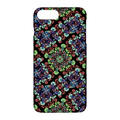Colorful Floral Collage Pattern Apple Iphone 7 Plus Hardshell Case by dflcprints