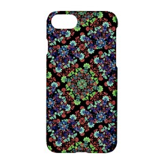 Colorful Floral Collage Pattern Apple Iphone 7 Hardshell Case by dflcprints