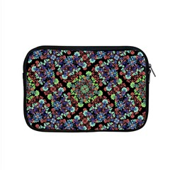 Colorful Floral Collage Pattern Apple Macbook Pro 15  Zipper Case by dflcprints