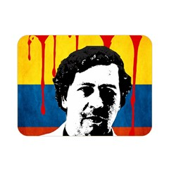 Pablo Escobar Double Sided Flano Blanket (mini)  by Valentinaart