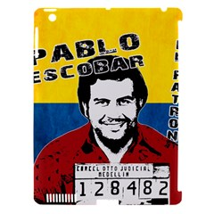 Pablo Escobar Apple Ipad 3/4 Hardshell Case (compatible With Smart Cover) by Valentinaart