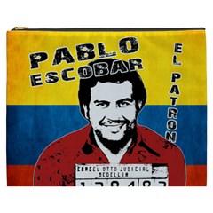 Pablo Escobar Cosmetic Bag (xxxl)  by Valentinaart