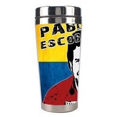 Pablo Escobar Stainless Steel Travel Tumblers by Valentinaart