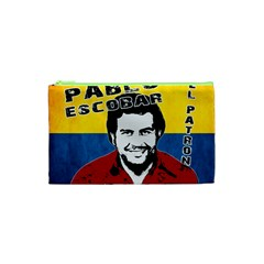 Pablo Escobar Cosmetic Bag (xs) by Valentinaart