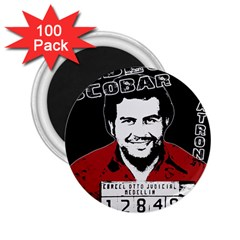 Pablo Escobar 2 25  Magnets (100 Pack)  by Valentinaart