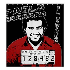Pablo Escobar Shower Curtain 66  X 72  (large)  by Valentinaart