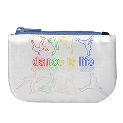 Dance Is Life Large Coin Purse by Valentinaart