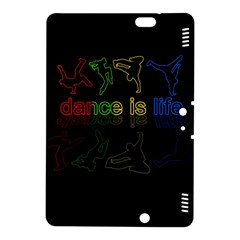 Dance Is Life Kindle Fire Hdx 8 9  Hardshell Case by Valentinaart