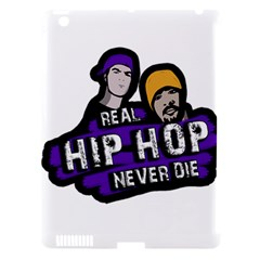 Real Hip Hop Never Die Apple Ipad 3/4 Hardshell Case (compatible With Smart Cover) by Valentinaart