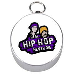 Real Hip Hop Never Die Silver Compasses by Valentinaart