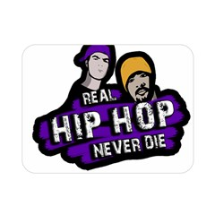 Real Hip Hop Never Die Double Sided Flano Blanket (mini)  by Valentinaart