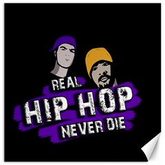 Real Hip Hop Never Die Canvas 16  X 16   by Valentinaart
