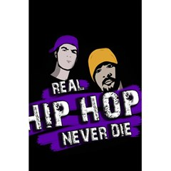 Real Hip Hop Never Die 5 5  X 8 5  Notebooks by Valentinaart