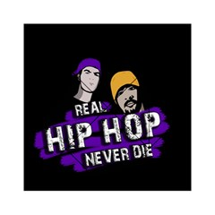 Real Hip Hop Never Die Acrylic Tangram Puzzle (6  X 6 ) by Valentinaart