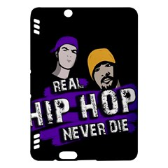 Real Hip Hop Never Die Kindle Fire Hdx Hardshell Case by Valentinaart