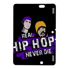 Real Hip Hop Never Die Kindle Fire Hdx 8 9  Hardshell Case by Valentinaart