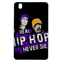 Real Hip Hop Never Die Samsung Galaxy Tab Pro 8 4 Hardshell Case by Valentinaart