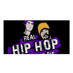 Real Hip Hop Never Die Satin Shawl by Valentinaart