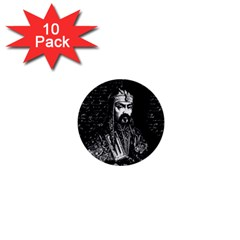 Attila The Hun 1  Mini Buttons (10 Pack)  by Valentinaart