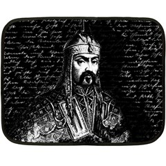 Attila The Hun Double Sided Fleece Blanket (mini)  by Valentinaart