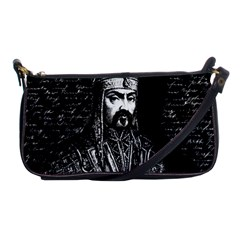 Attila The Hun Shoulder Clutch Bags by Valentinaart