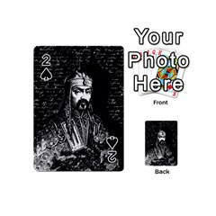 Attila The Hun Playing Cards 54 (mini)  by Valentinaart