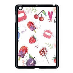 Hand Painted Summer Background  Apple Ipad Mini Case (black) by TastefulDesigns