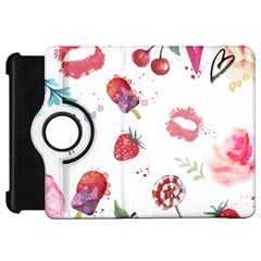 Hand Painted Summer Background  Kindle Fire Hd 7  by TastefulDesigns