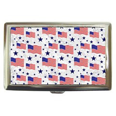 Flag Of The Usa Pattern Cigarette Money Cases by EDDArt