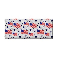 Flag Of The Usa Pattern Cosmetic Storage Cases by EDDArt