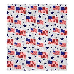 Flag Of The Usa Pattern Shower Curtain 66  X 72  (large)  by EDDArt