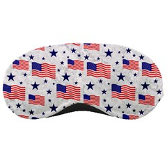 Flag Of The Usa Pattern Sleeping Masks by EDDArt