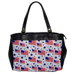 Flag Of The Usa Pattern Office Handbags Front