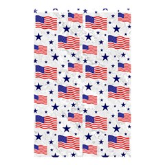Flag Of The Usa Pattern Shower Curtain 48  X 72  (small)  by EDDArt