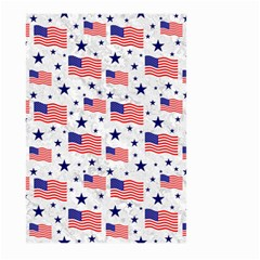 Flag Of The Usa Pattern Large Garden Flag (two Sides) by EDDArt